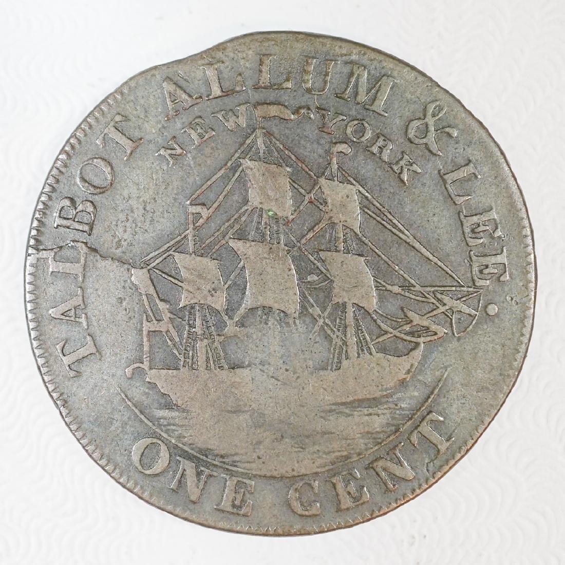 1794 Talbot, Allum & Lee, One Cent, New York - 2