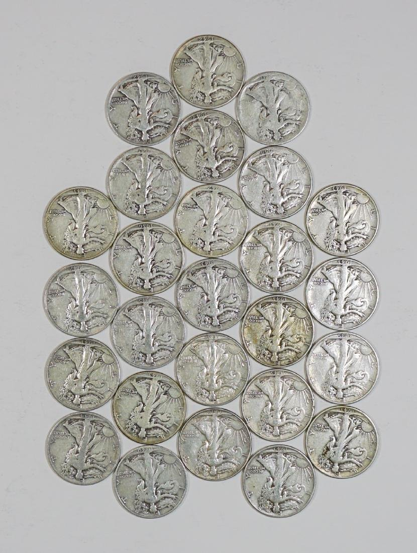 Group of [26] Walking Liberty Silver Half Dollars