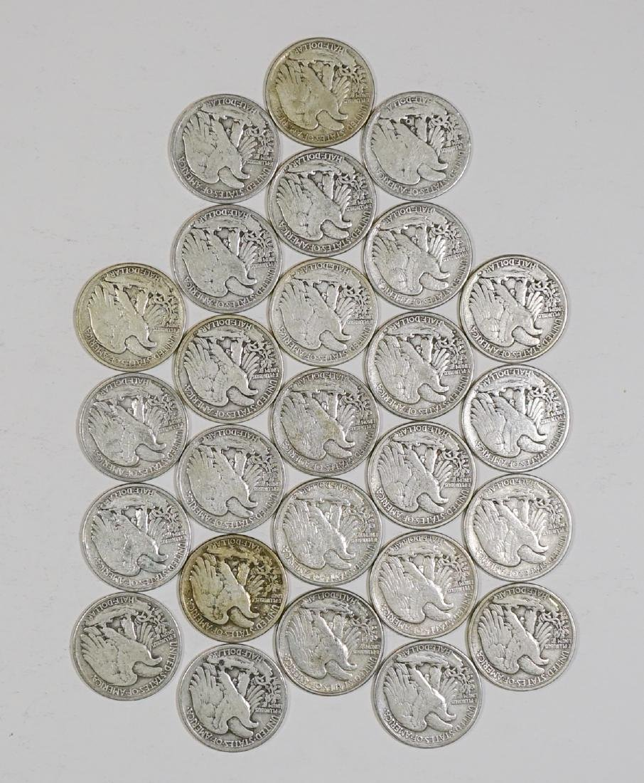Group of [26] Walking Liberty Silver Half Dollars - 2