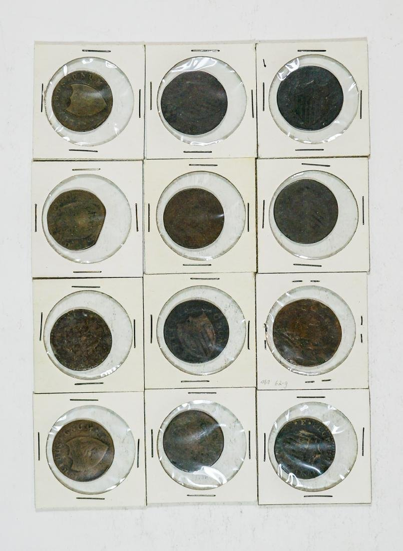 Estate Collection: U.S Colonial Coinage (12) Pcs. - 2