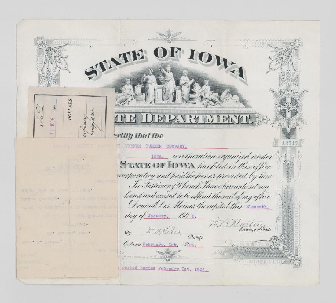 Group of Stock Certificates and Documents - 6