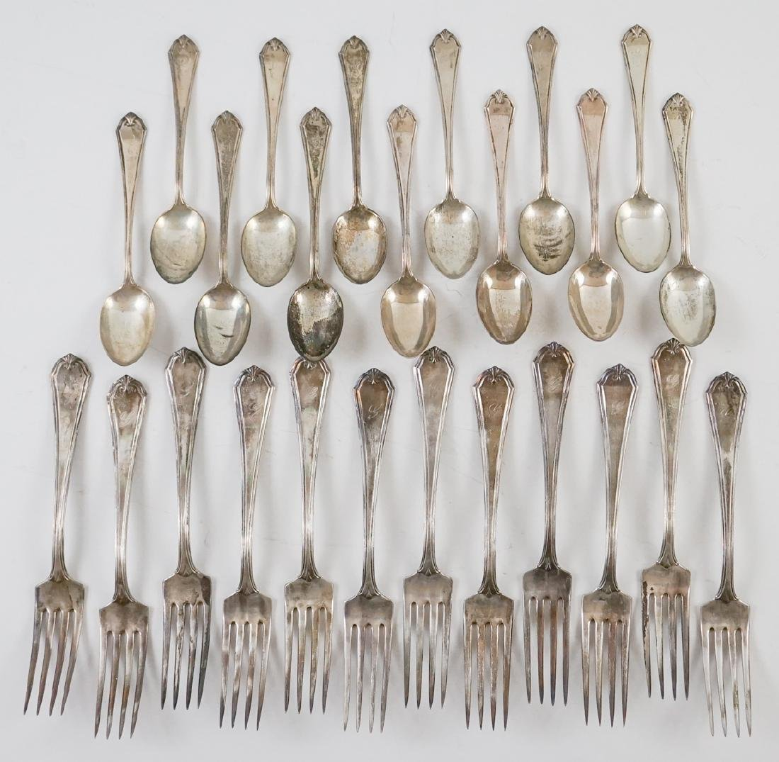 Simpson, Hall, Miller & Co. Sterling Flatware