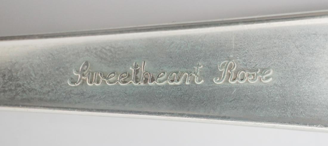 Lunt Sweetheart Rose Sterling Flatware - 6