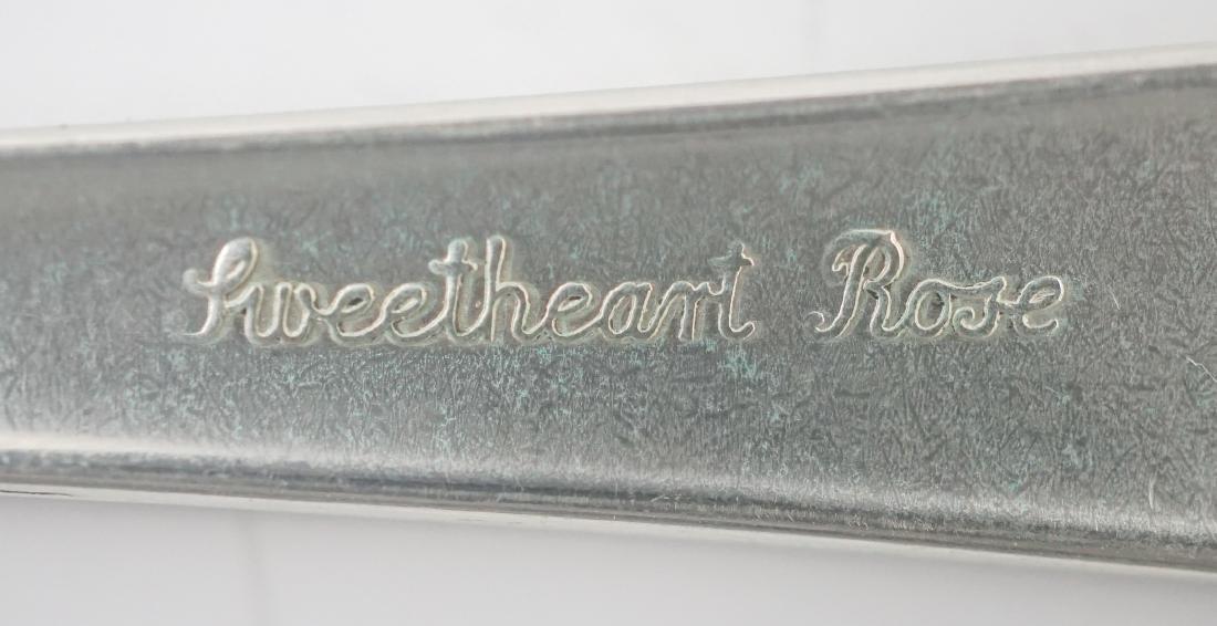 Lunt Sweetheart Rose Sterling Flatware - 9