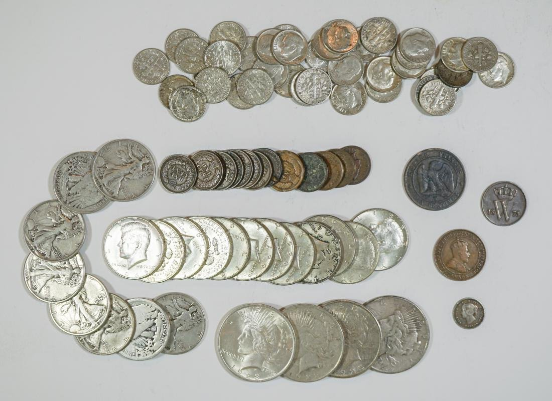 Group of Vintage U.S. Silver Coins