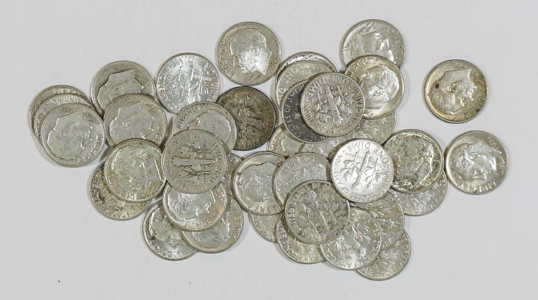 Group of Vintage U.S. Silver Coins - 2
