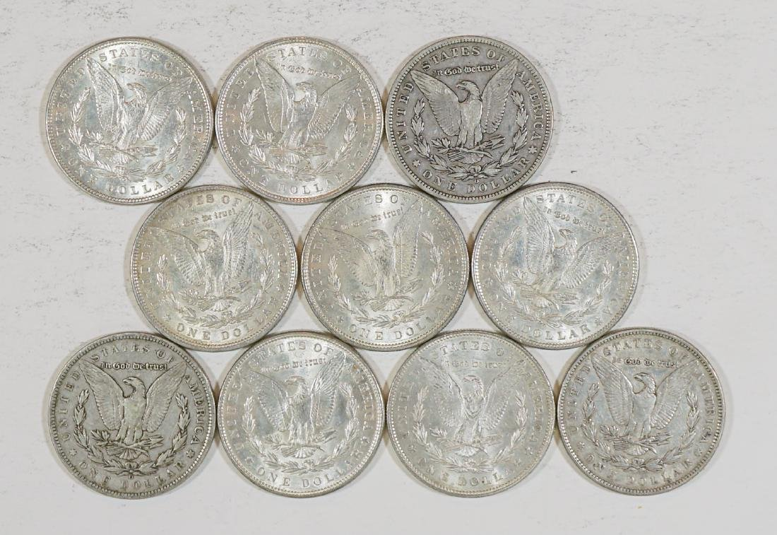 Ten Better U.S. Morgan Silver Dollars