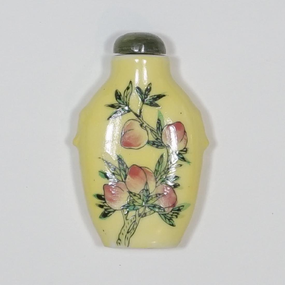 Old Chinese Fine Porcelain Signed Snuff Bottle