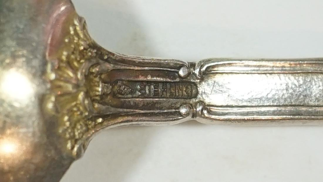A Group of Eight Sterling Souvenir Spoons - 4