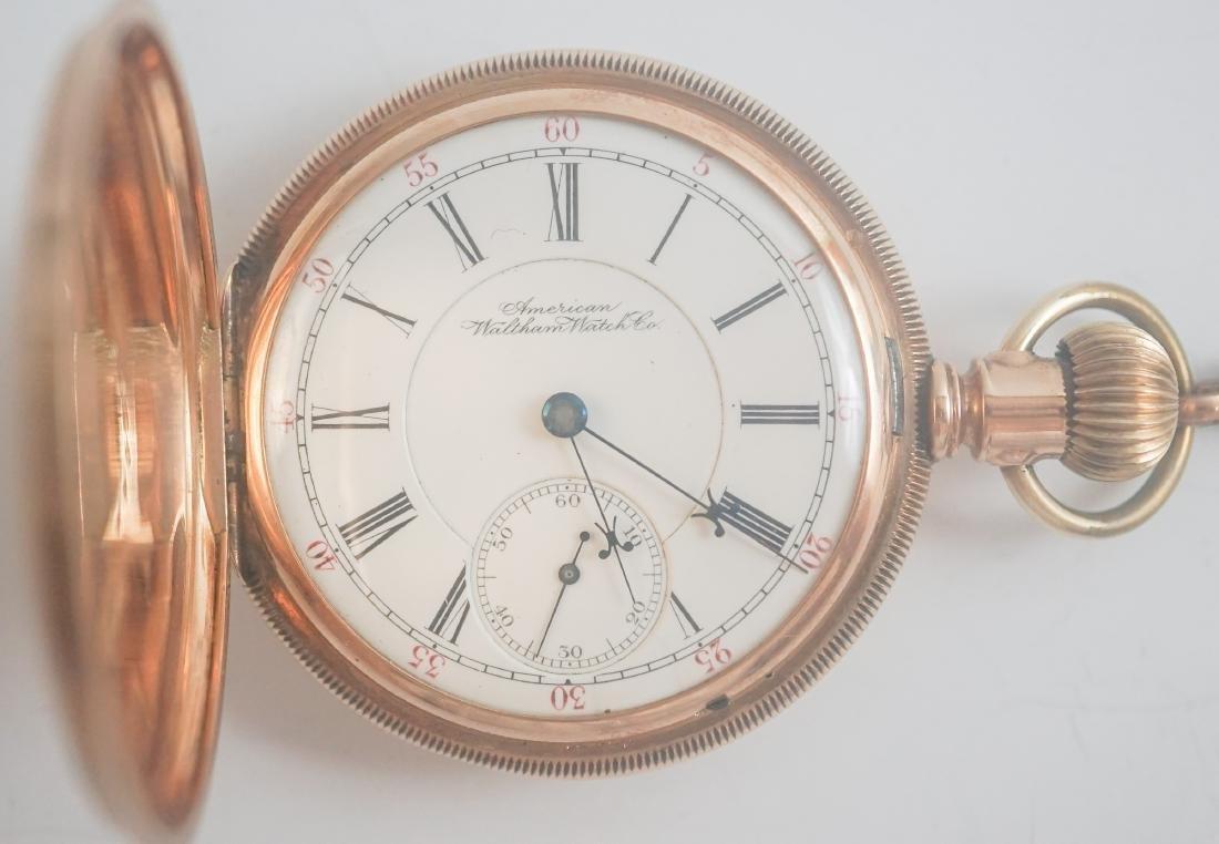 Waltham Vanguard 14K Gold Pocket Watch Size 16