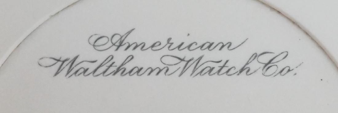 Waltham Vanguard 14K Gold Pocket Watch Size 16 - 2