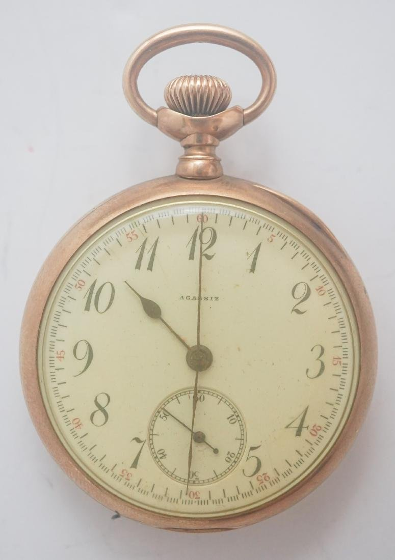Agassiz 14K Gold Pocket Watch