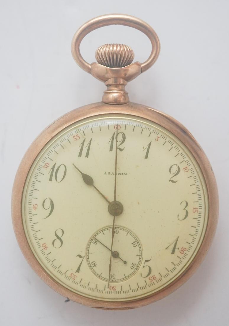 Agassiz 14K Gold Pocket Watch