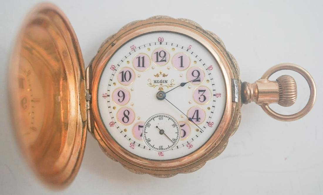 Antique Elgin Ladies Pocket Watch