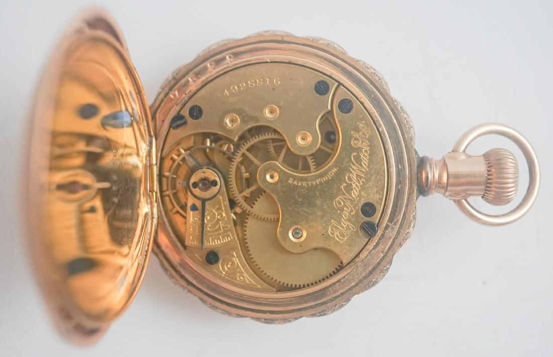 Antique Elgin Ladies Pocket Watch - 3