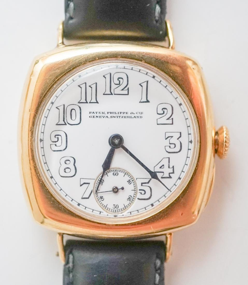 Patek Philippe 18K Gold Wrist Watch, Ref. 8 1921