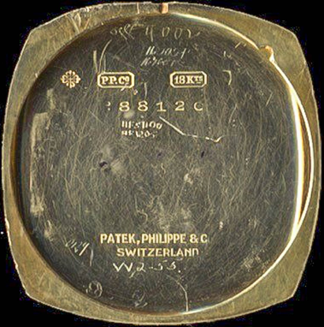 Patek Philippe 18K Gold Wrist Watch, Ref. 8 1921 - 8