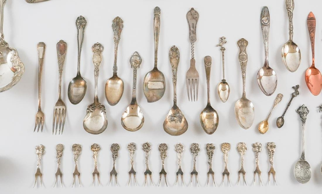 A Group of Ornate Silver Plate Serving Pieces - 3