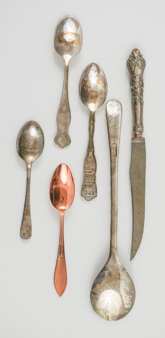 A Group of Ornate Silver Plate Serving Pieces - 8