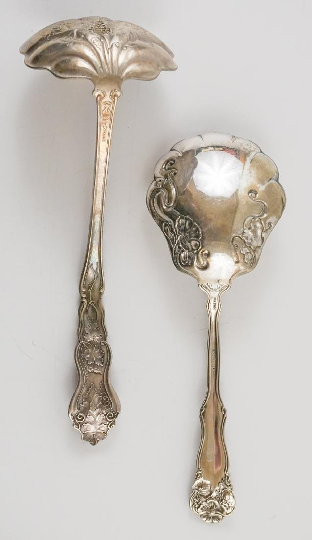 A Group of Ornate Silver Plate Serving Pieces - 9