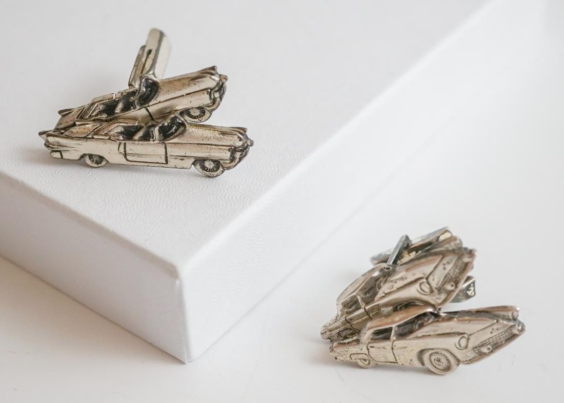 Two Pairs Fenwick & Sailors Car Cufflinks