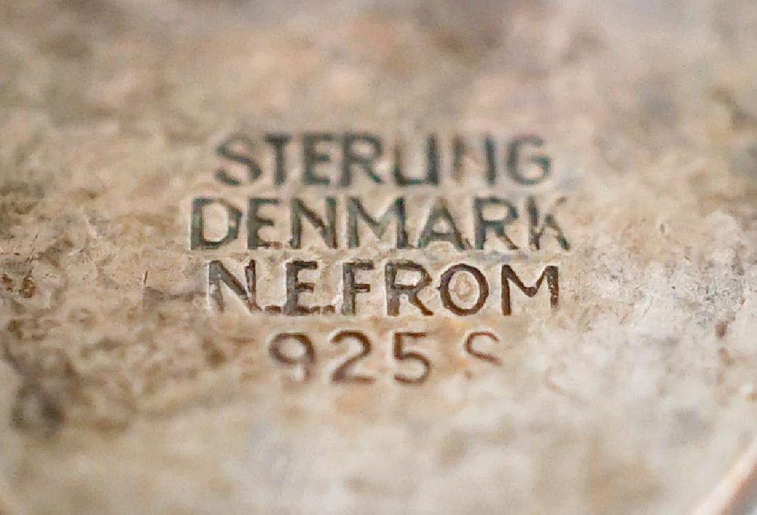 N.E. From Denmark Sterling Cufflinks - 3