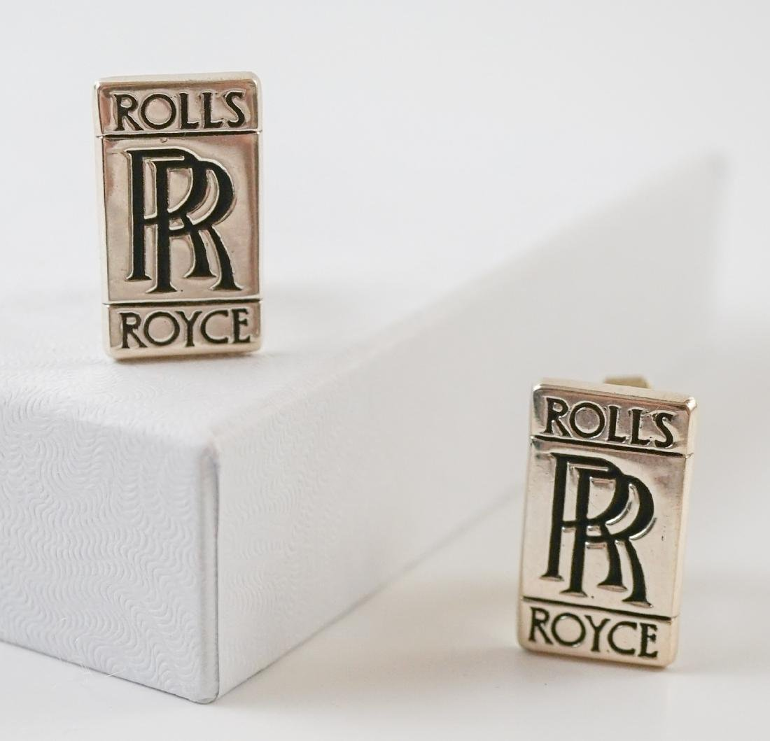 Rolls Royce Sterling Cufflinks