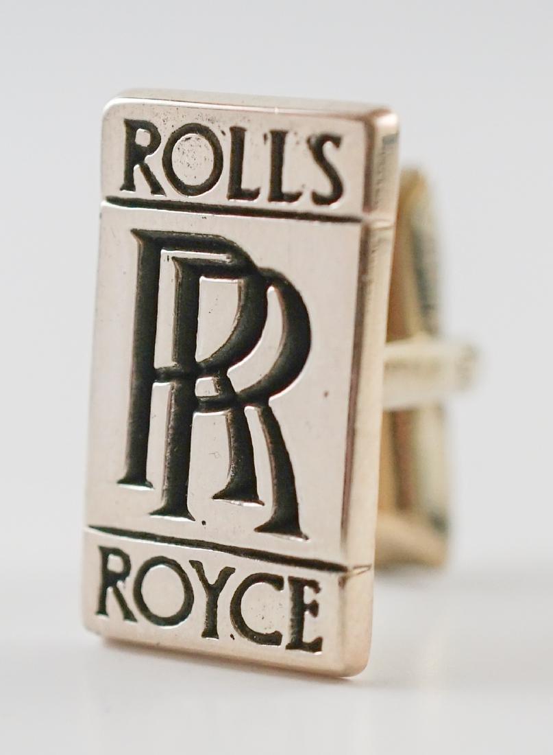 Rolls Royce Sterling Cufflinks - 2