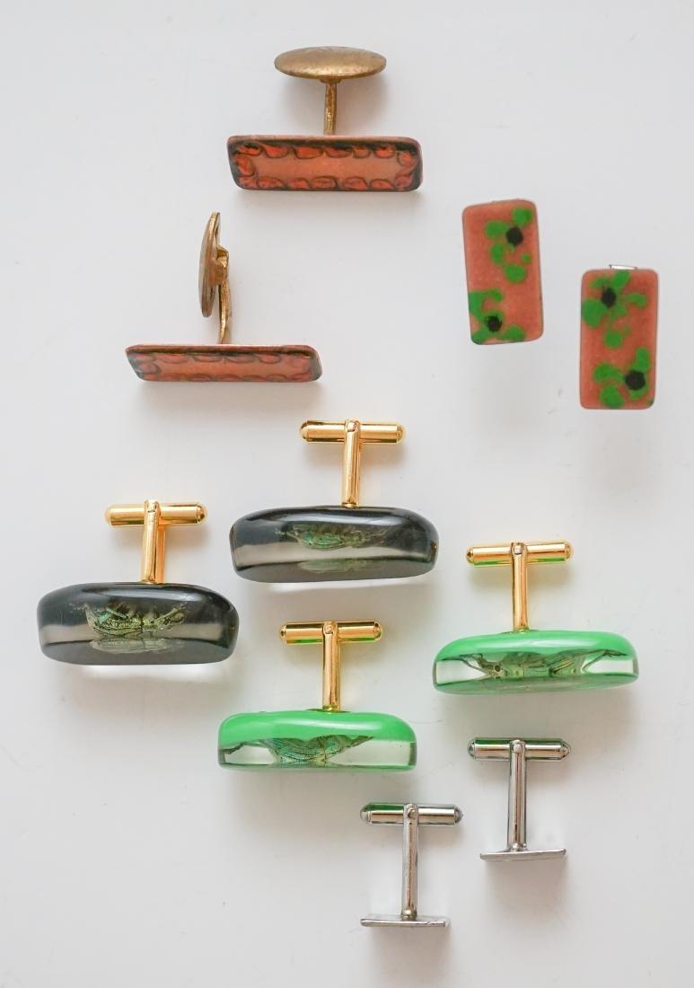 Mid-Century and Designer Cufflinks