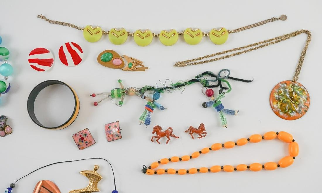 Group of Mid-Century and Designer Costume Jewelry - 2