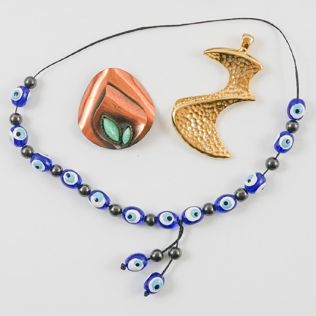 Group of Mid-Century and Designer Costume Jewelry - 3