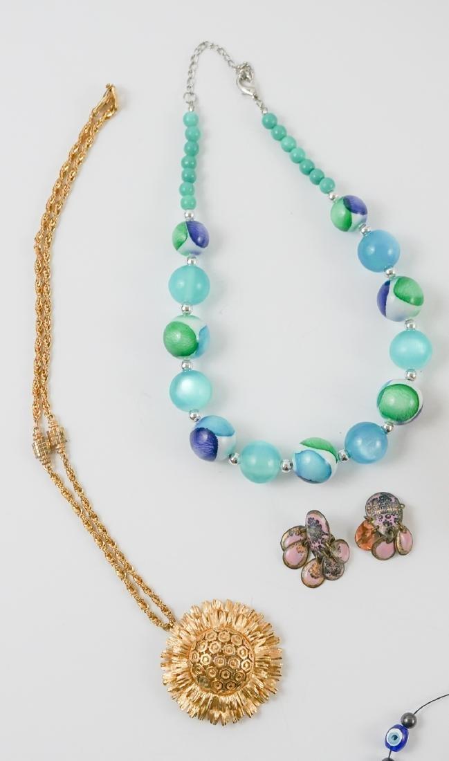 Group of Mid-Century and Designer Costume Jewelry - 4