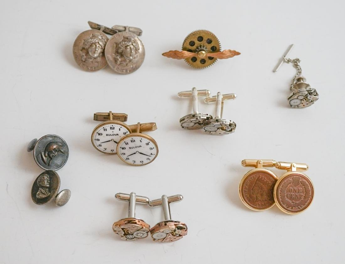 U.S. Love Token Coin Cufflinks, Watch Cufflinks