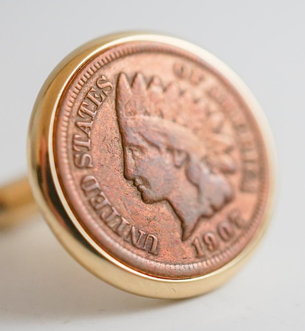 U.S. Love Token Coin Cufflinks, Watch Cufflinks - 4