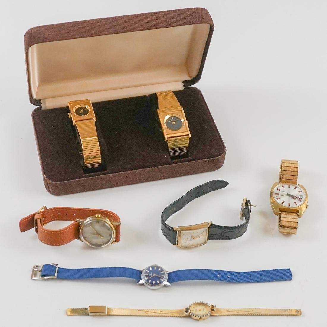 Estate Group of Vintage Wrist Watches
