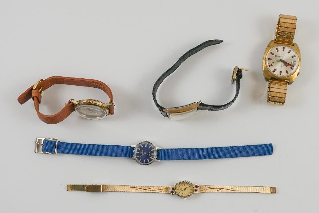 Estate Group of Vintage Wrist Watches - 2