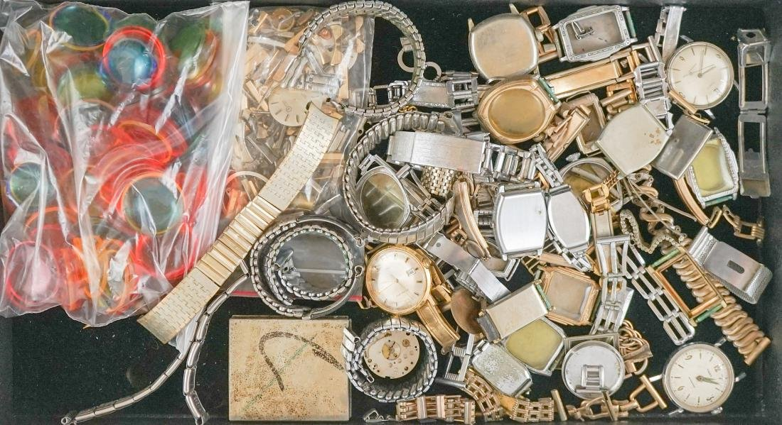 Large Group of Watch Parts and Pieces - 3