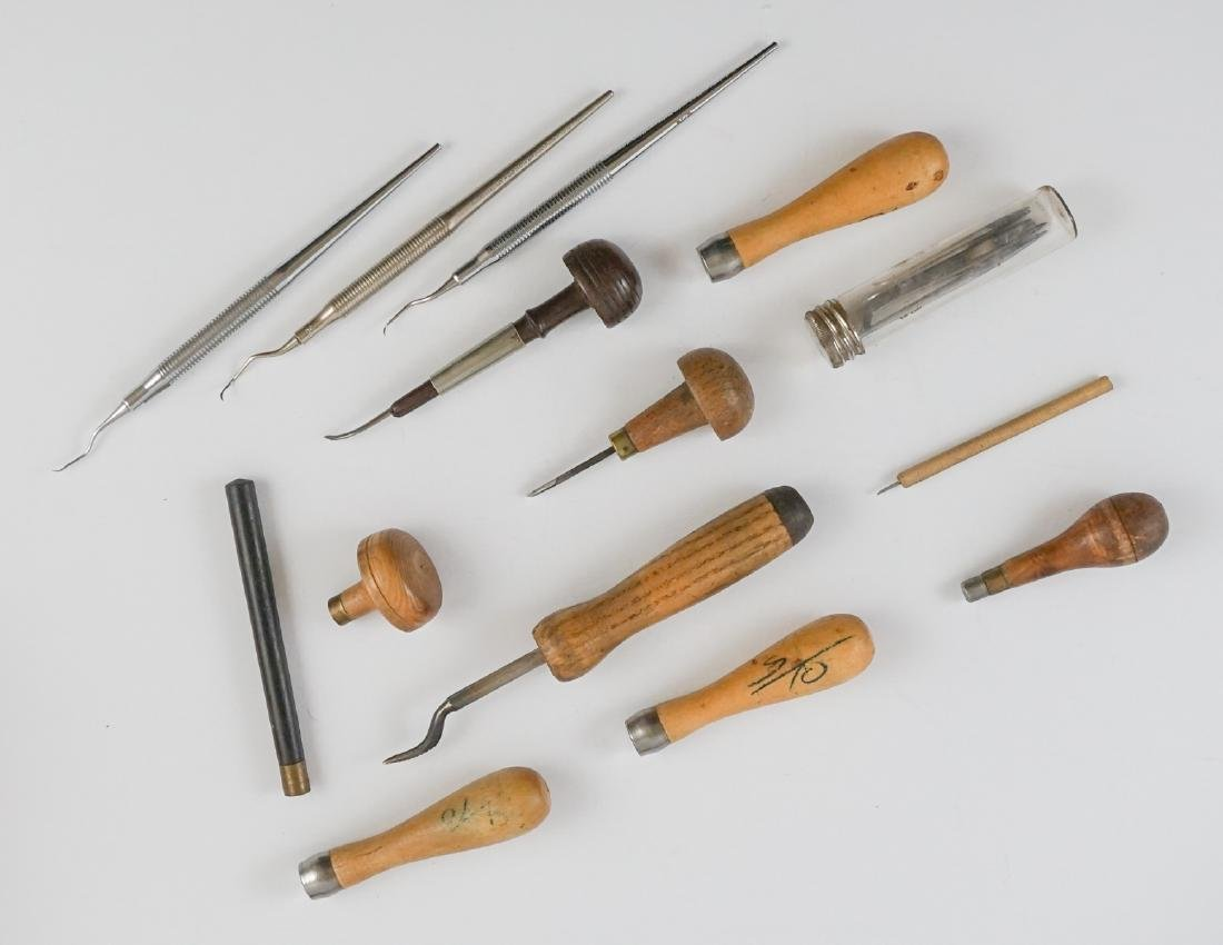 Engraving Tools, Ezra Bowman and More - 4