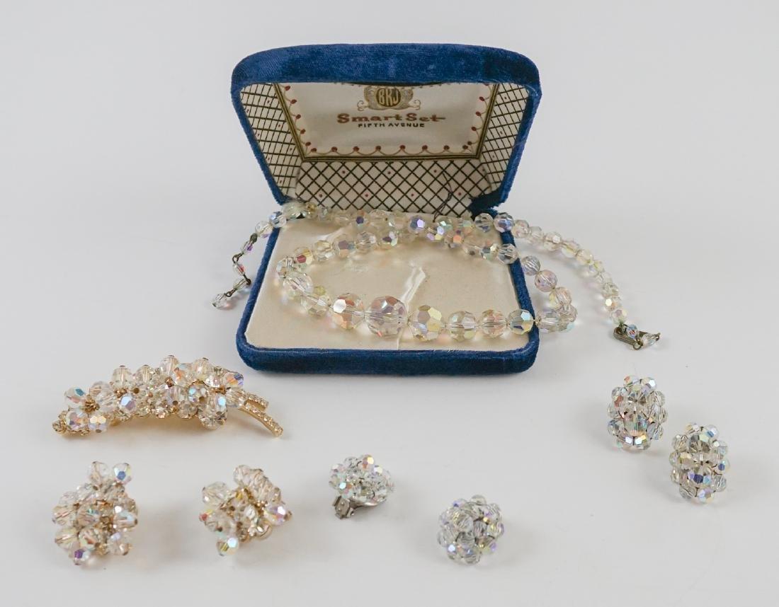 Vintage Rock Crystal Jewelry