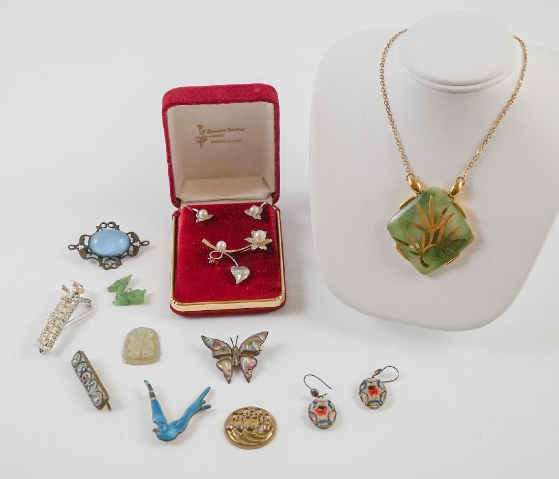 Vintage Pearl, Jade and Victorian Jewelry