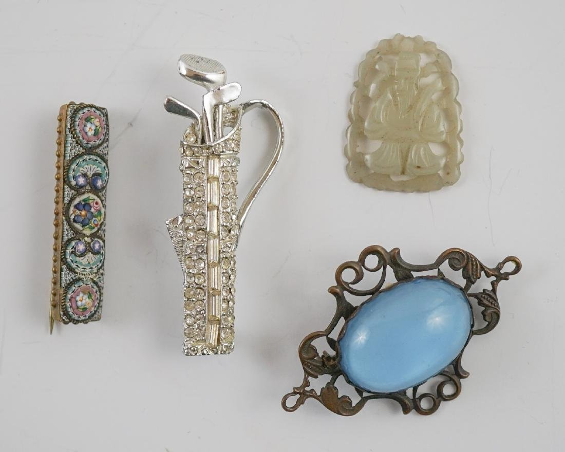 Vintage Pearl, Jade and Victorian Jewelry - 6