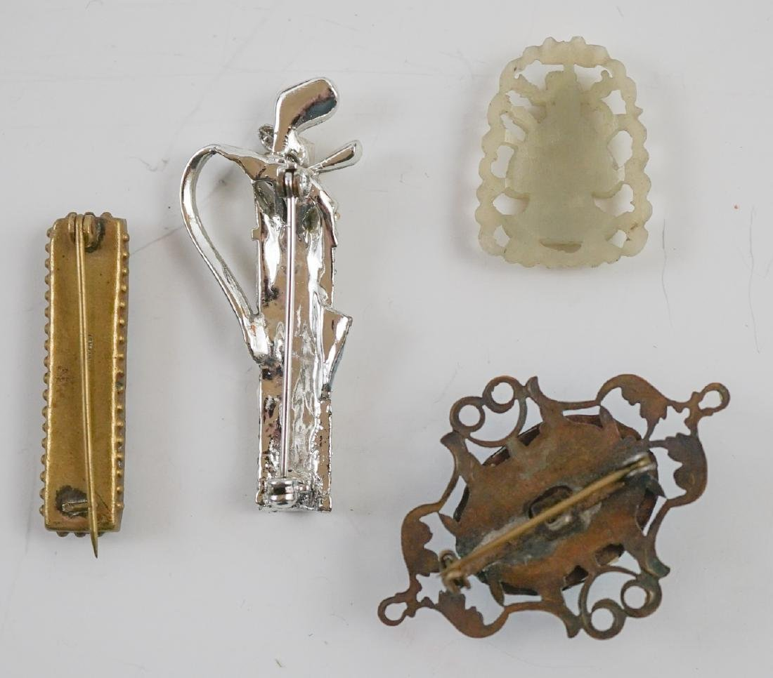 Vintage Pearl, Jade and Victorian Jewelry - 7