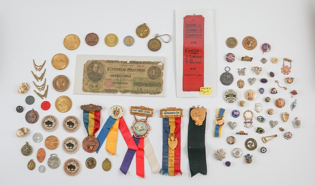Estate Collection: Pins, Medals and Buttons