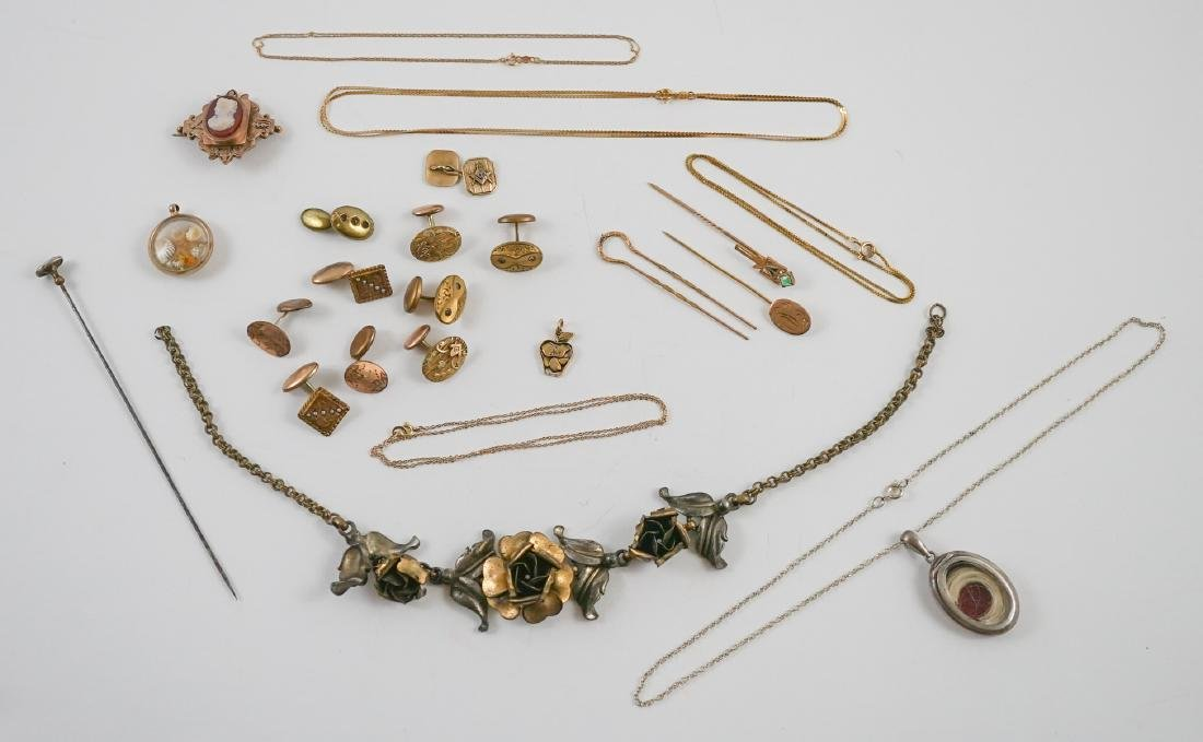 Group of Antique and Victorian Jewelry