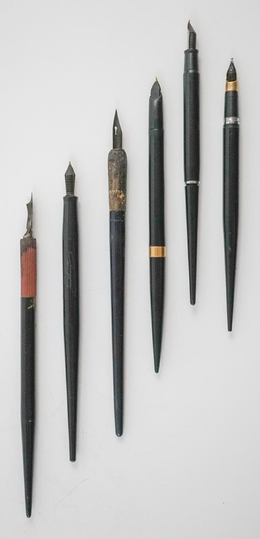 A Group of Vintage and Antique Fountain Pens - 5