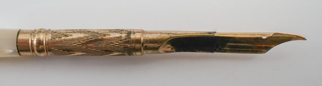 Three Mother of Pearl Pens - 7