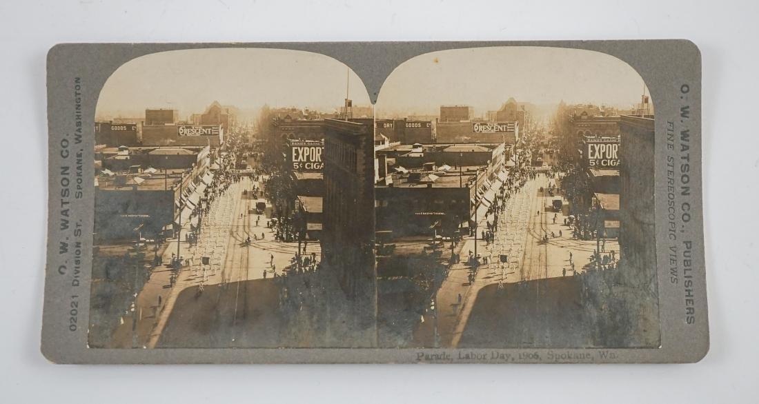 Six O.W Watson Spokane, Wa. and Idaho Stereoviews - 3