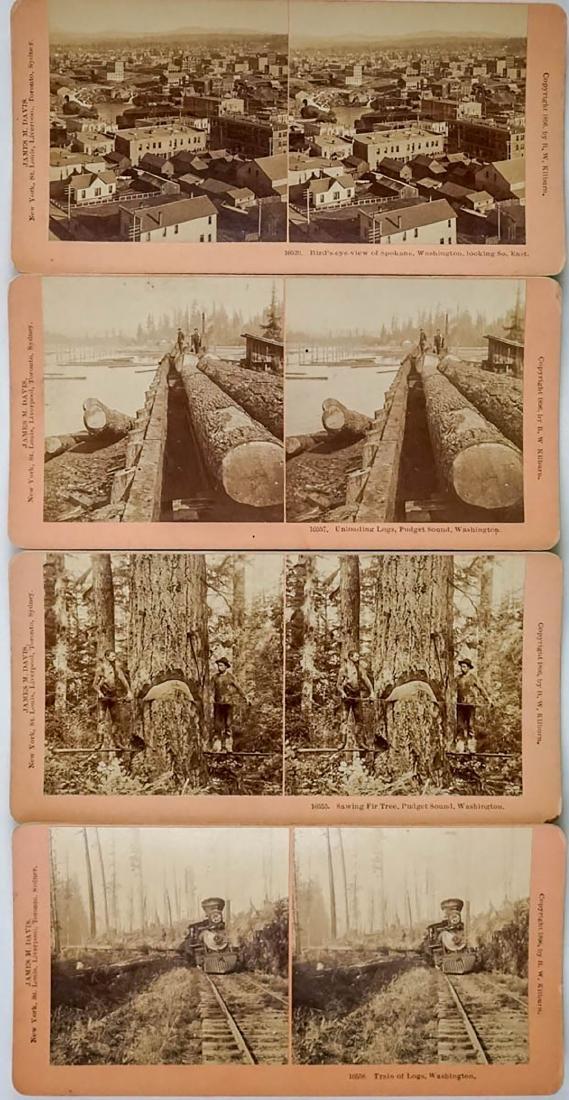 Fourteen Pacific Northwest Stereoviews - 2