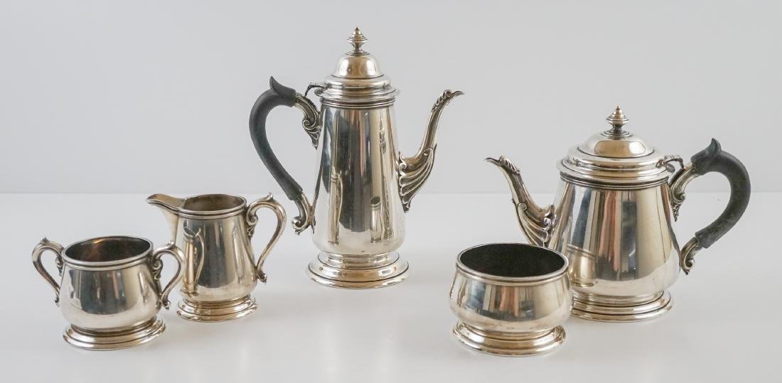 Richard Dimes Five Piece Sterling Tea Set
