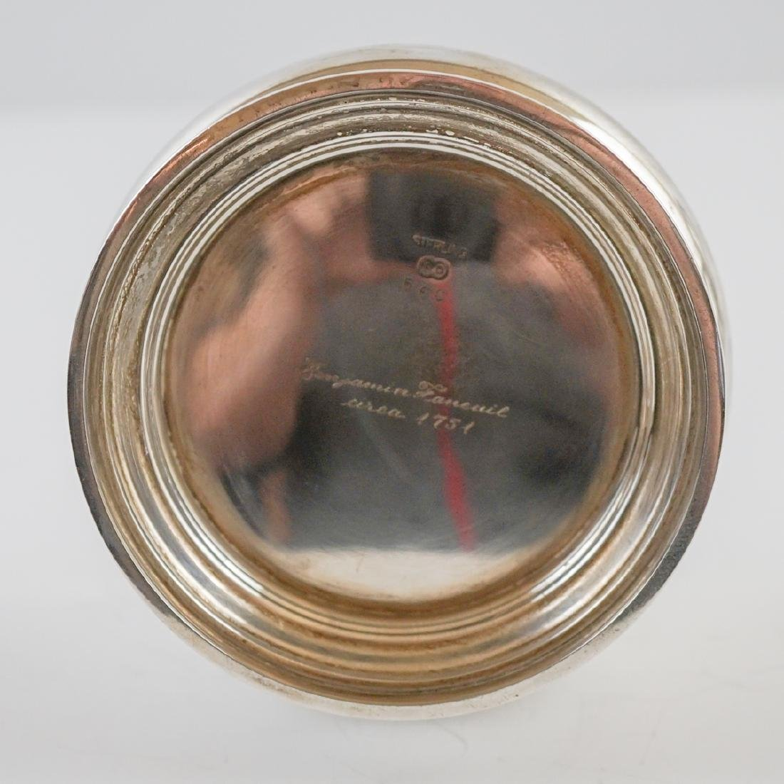Richard Dimes Five Piece Sterling Tea Set - 9